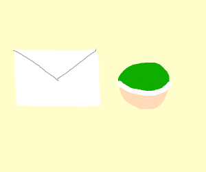 Envelope and a shell