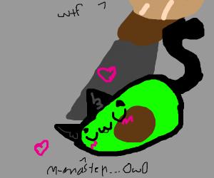 UwU-vacado loves being cut by master