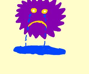 purple sun is so very sad