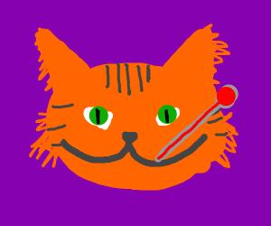 Garfield is sick