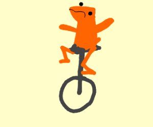 F for small orange dat boi