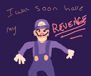 Waluigi will soon have his revenge...