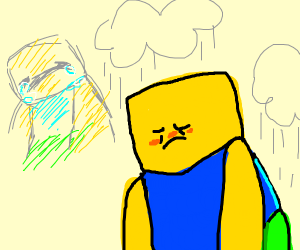 Sad Roblox dude