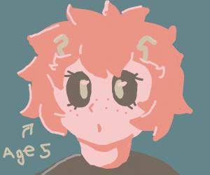 Child Ashido Mina