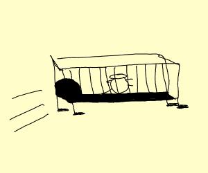 Walking crib