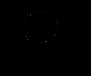 picture of a black hole