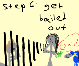 STEP 5:Freedom! Everyone get caught by police