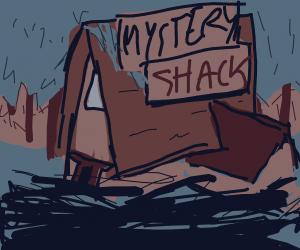 A Mystery Shack.