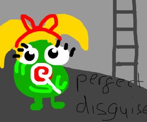 underground monster in little girls disguise