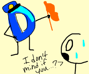 Somebody doesnt mind to be flagged on Drawcep