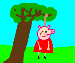 Peppa Pig Hangs Up On Sussie Drawception