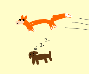 the quick orange fox jumped over the lazy dog