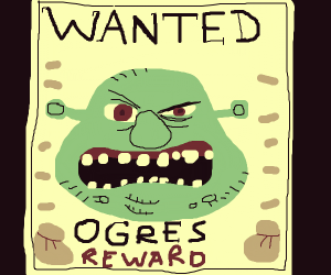 ogre wanted