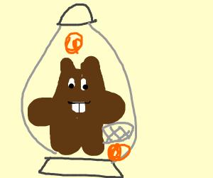Beaver in a Lava Lamp