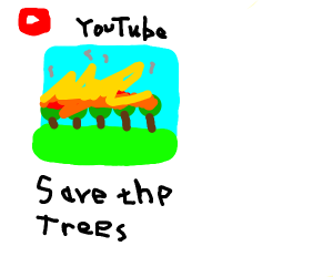 Youtube video about Saving trees