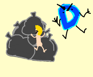 Drawception 2 years ago with too much jazza