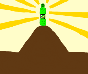 Mountain Dew on the hill