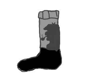 Sherlock Holmes' socks