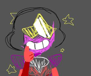grinning garnet