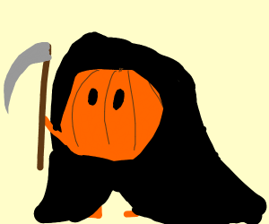 Pumpkin Grim Reaper