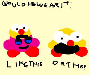 If Kirby inhaled Yellmo