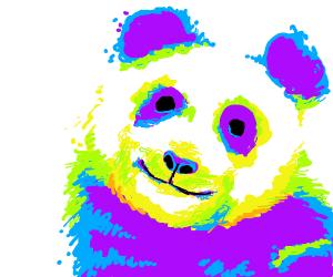 Multicolor,panda