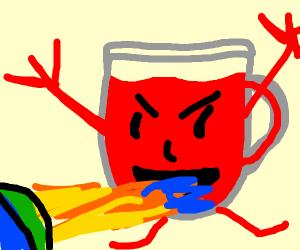 Devilish Kool-Aid Man Burns the Earth