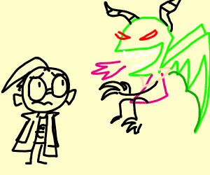Dragon of doom!