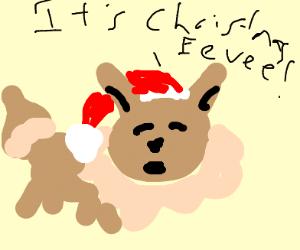 Christmas Eevee.Eevee Says It S Christmas Eevee Drawception