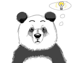 Panda has idea