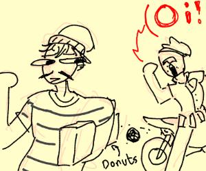 Robbing donuts