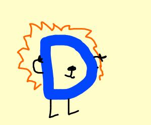drawceptiom logo is a lion