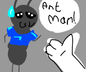 Man-Ant gets mistaken for Ant-Man
