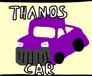 A meme of thanos