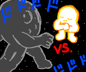 Sun vs. Moon!