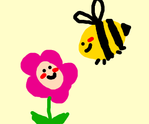 the flowers & the bees
