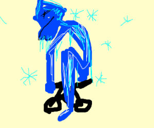 Frost Giant Rides Bike