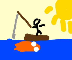 A fisherman.