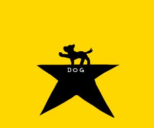 Hamilton but dog