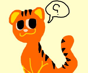 tiger question mark