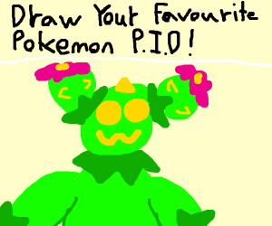 Draw your favourite Pokemon (P.I.O)