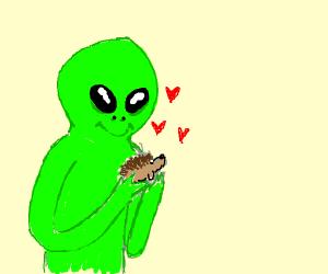 alien adores hedgehog