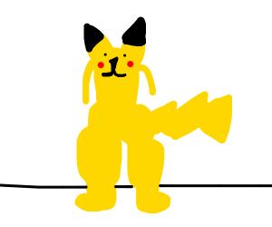 Pikachu didn't Skip leg day.