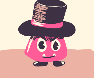 fancy tophat gumba