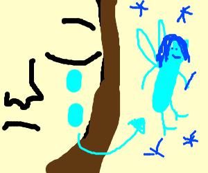 Tears become a fairy