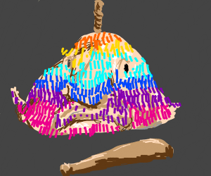 Blob Fish Piñata