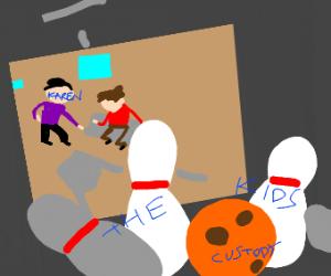 karen strikes again! (and takes the kids)