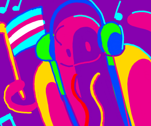 trans hotdog