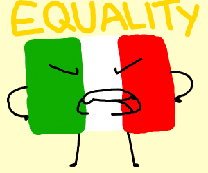 italy wants equality