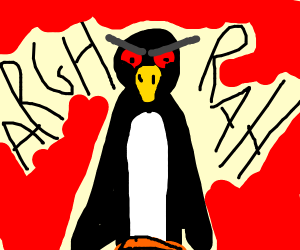 Pingu is angery